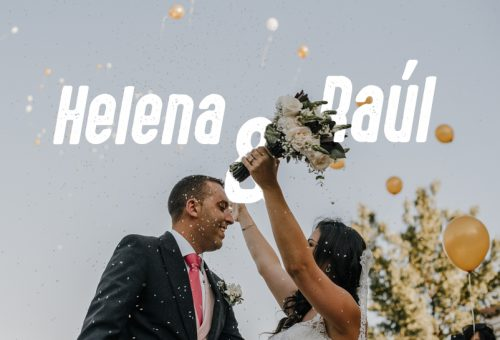 Boda en Arcos de Fuentepizarro con Helena y Raúl