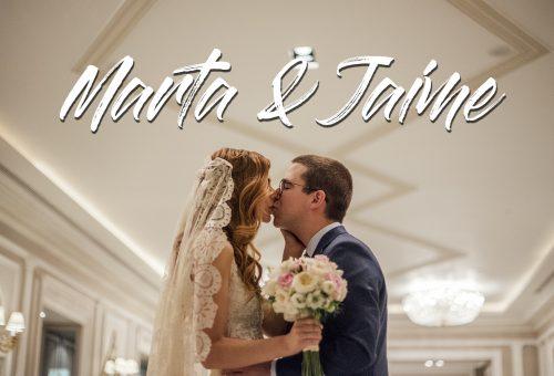 Boda en el Hotel Villamagna con Marta y Jaime